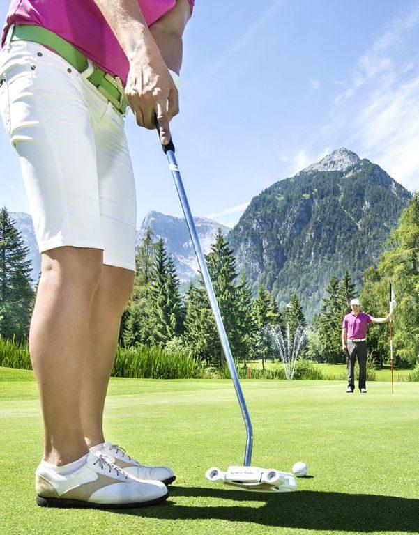 Golfspielen am Golfplatz