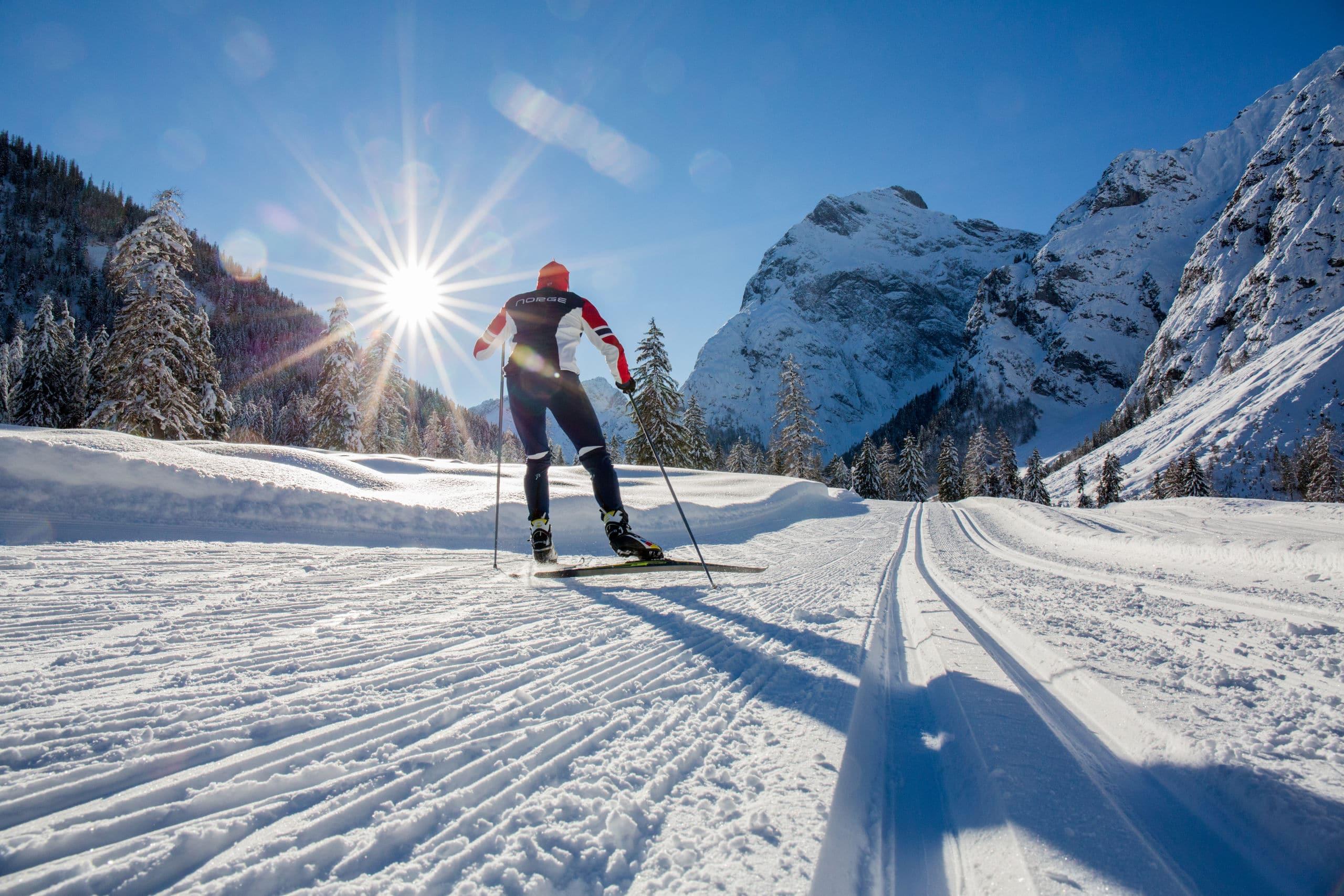 Langlaufen in den Karwendeltäler