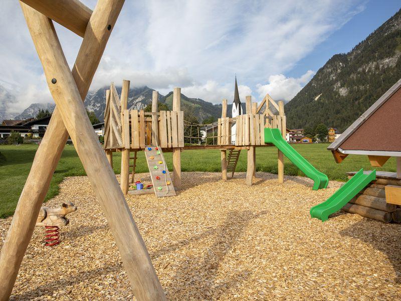 Übersicht von dem Kinderspielplatz